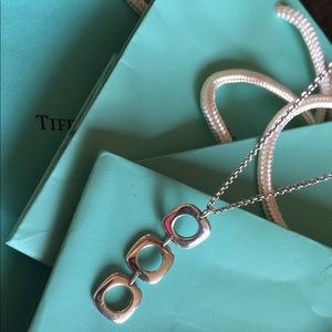 Tiffany & Co link sterling silver link necklace